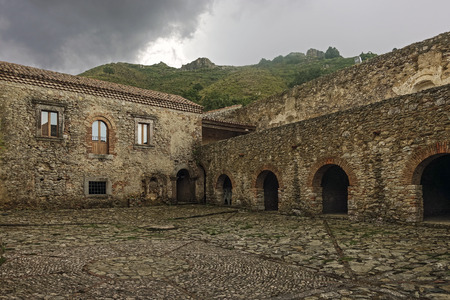 Ancient Basilian monastery Reklamní fotografie