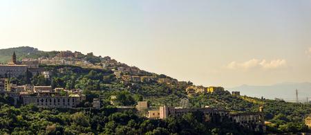 panoramic photo of the city god Tivoli
