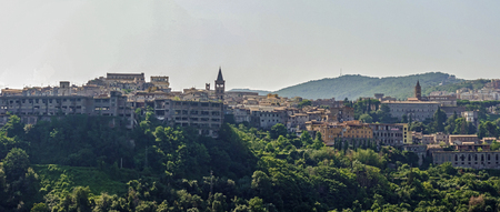 panoramic photo of Tivoli Reklamní fotografie