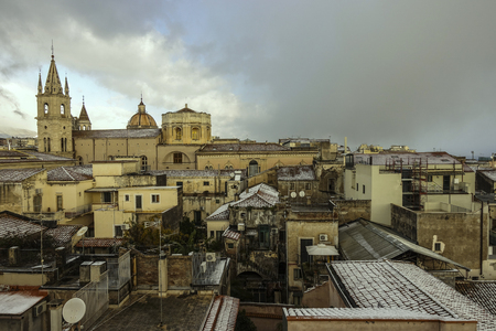Postcard of Acireale under the snow - 106