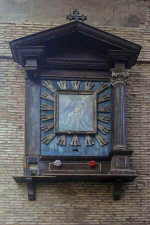 ancient Roman religious newsstand - 324