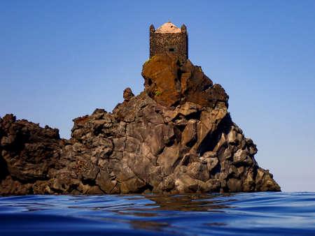Watchtower in Santa Tecla di Acireale