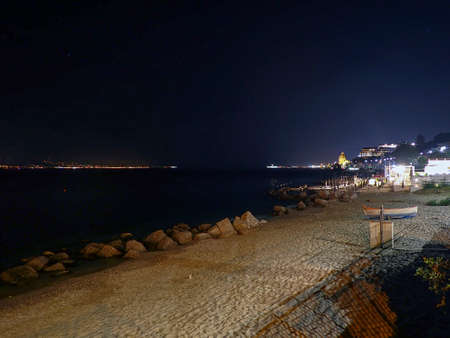 Strait of Messina beach at night (35)