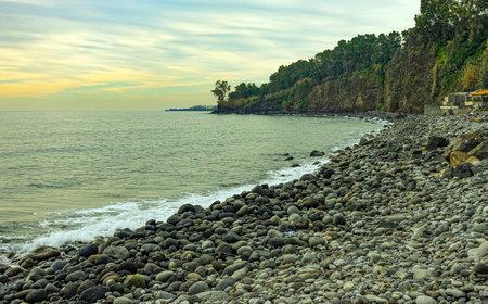 Cocole beach in Praiola 78 Standard-Bild