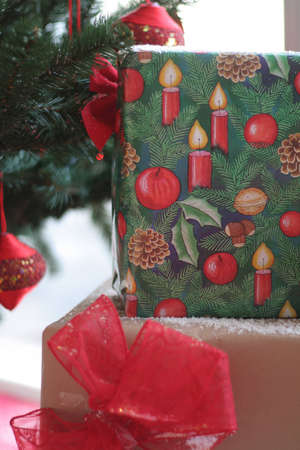 A Christmas detail with gifts Stock Photo - 11722047