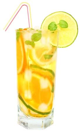 limonada: Bebida helado con menta y cítricos.