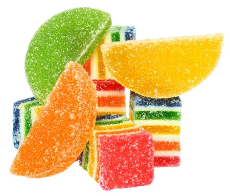 Candy on a white background. 版權商用圖片 - 9455354
