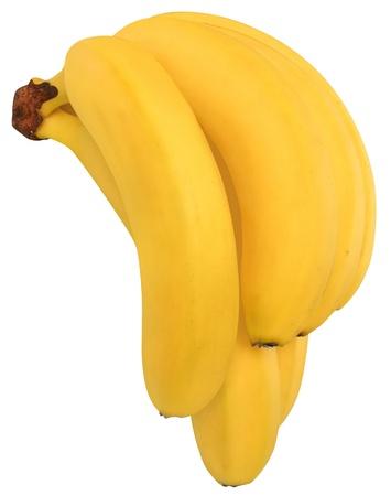 Bunch banana isolated  photo