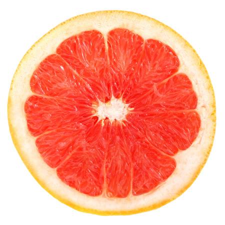 Grapefruit on a white background. Stock Photo
