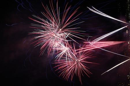 long: Fireworks long exposure