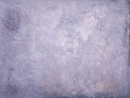 raw plaster structure colored with acrylic colors. Abstract surface, predominantly gray Stock fotó