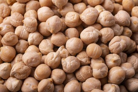 very close background with dried chickpeas