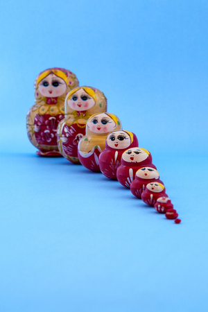 Matryoshka in single file