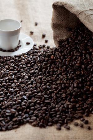 expressed: A tasty cup of italian coffee Stock Photo