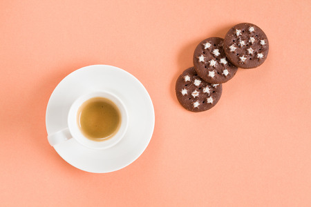 expressed: Starting with a good italian coffee and biscuits