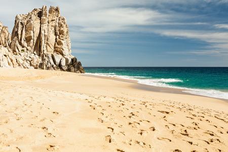 lucas: Cabo San Lucas beach, Mexico