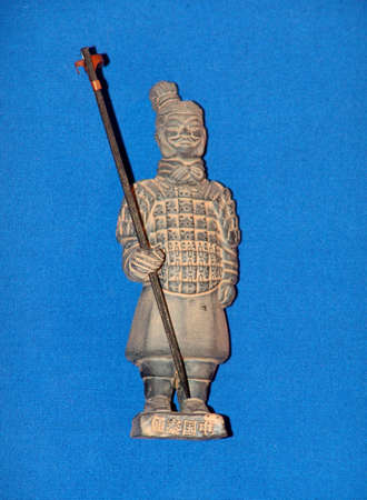 Ancient terracota soldier form Xian, China Stock Photo