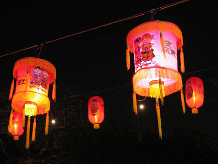 Chinese decoration on New Year