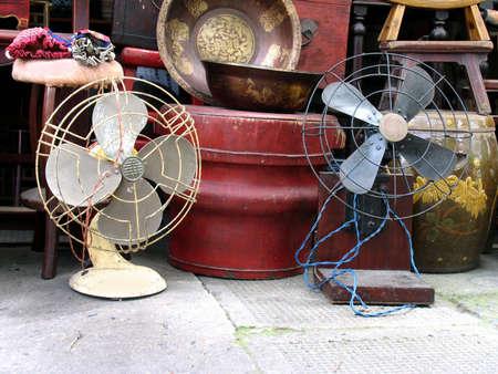 Flea Market in Shanghai, China,