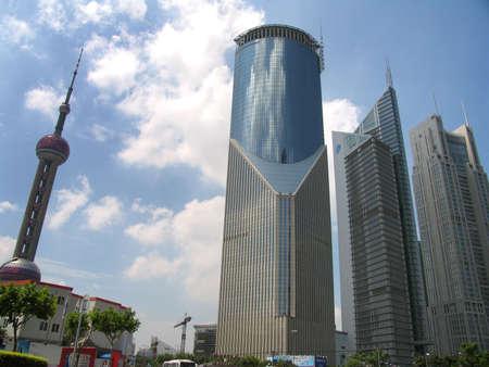 Buildings at Shanghai photo