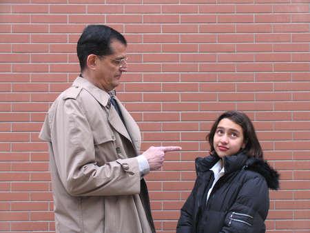 Teacher & Student, warning a student