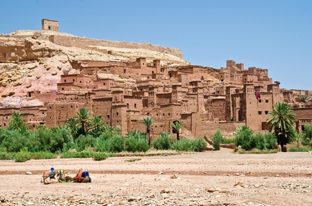made in morocco: Morocco, the kasbah of Ait Benhaddou. In this place was made part of the moovie the Gladiator and many others.
