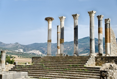 archeological site: The archeological site of Volubilis, near Meknes, Morocco