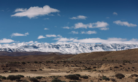 atlas: View of Atlas Mountains, Morocco