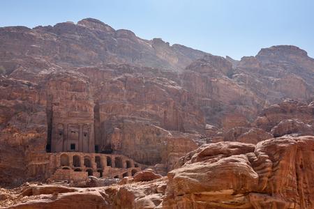 urn: Petra, Jordan: the Royal Tomb called The Urn Tomb
