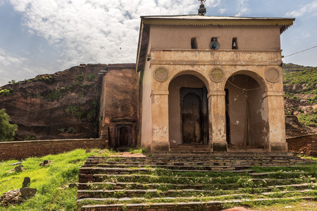 cristian: Rock cut church in the Tigray region of Ethiopia, near to the Eritrean borders