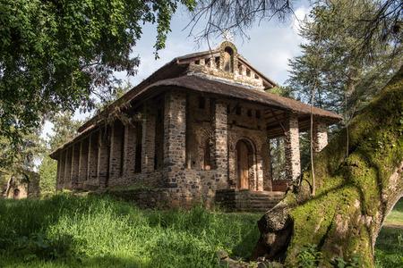 cristian: The church of Debre Berhan Selassie in Gondar, one of the most beautiful in Ethiopia
