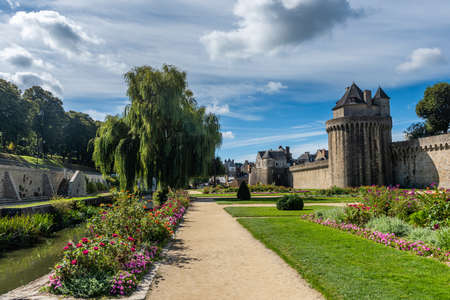 The beautiful medieval town of Vannes