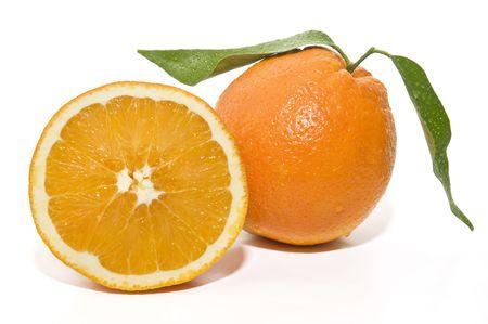 orange and half photo