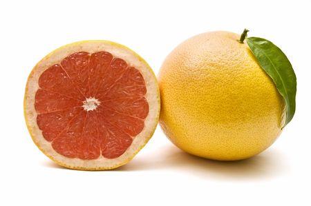 grapefruit and half photo