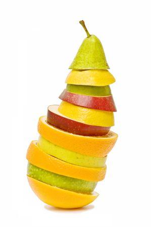 naranjas: Frutas mixtas  Foto de archivo