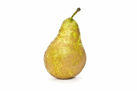fresh pear on white background Stock Photo
