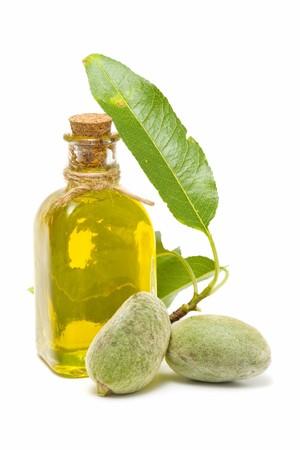 massage huile: huile aux amandes