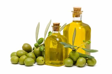 olive green: olive oil