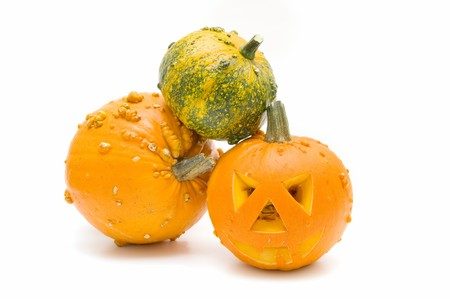 Halloween pumpkins photo