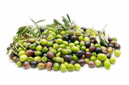 variety of olives