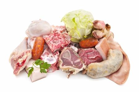bones and meat photo