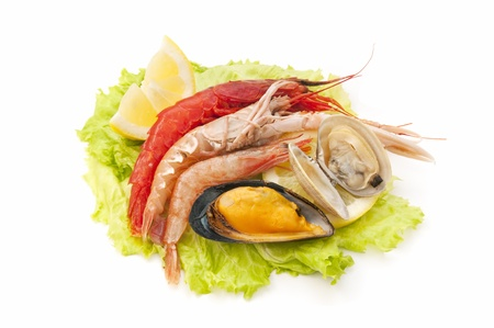 mixed seafood photo