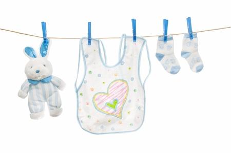 Baby clothesline photo