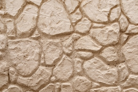 texture that shows the details of the construction of a wall. photo