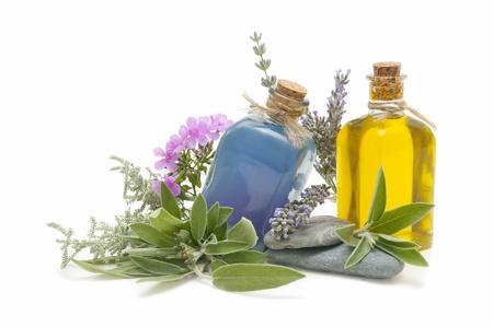 Spa encore la vie avec des parfums et des herbes aromatiques