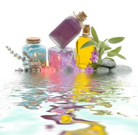 spa treatment with natural herbs and essences Stock Photo - 10778889