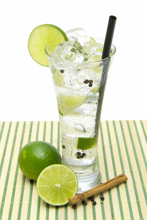 refreshing gin tonic  photo
