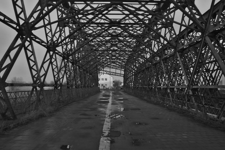 an old bridge Stock fotó