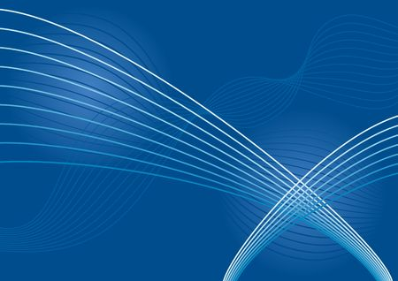 high tech background in blue tones Stock Photo