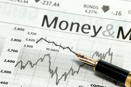 business chart Stock Photo - 3481601